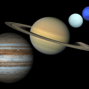 Gas Giants and Pluto