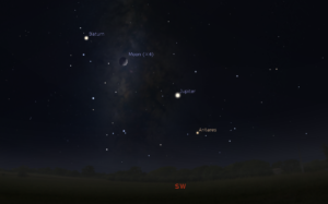 October 4 2019 Celestial alignment